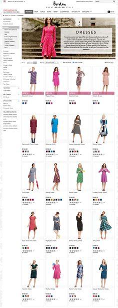 Boden - Women - Dresses - model studio upper body, playful