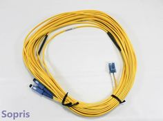 NT0X97CTE6/14.5 Nortel Duplex LC to SC Singlemode Fiber Cable #Nortel