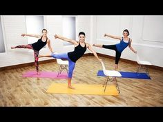 Cardio Barre Workout For the Best Full-Body Burn Ever | Class FitSugar - YouTube