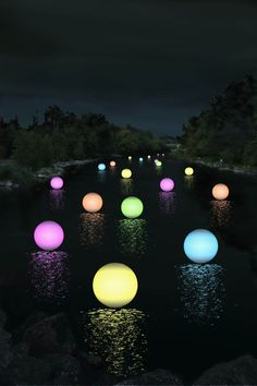 Light spheres