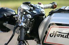 973 Honda Motorcycles CB350 Cafe Racer