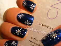 Nails by Arie: Gelish Aurora Christmas look.