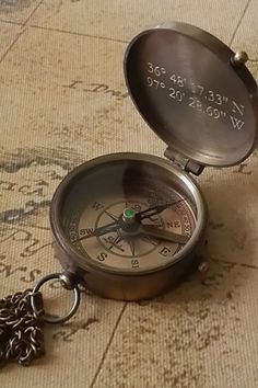 60 Dapper Father's Day Gifts Dad Will Love For the Adventurer: This vintage-inspired compass can be engraved with a design or name of your choice. Ankle Tattoo Small, Ankle Tattoos, Sleeve Tattoos, White Tattoos, Wrist Tattoo, Tiny Tattoo, Small Tattoos, Garter Tattoos, Rosary Tattoos