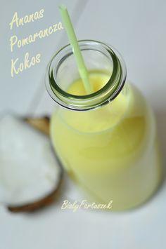 Biały fartuszek: Odmładzający sok kokosowy