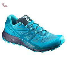 Salomon , Chaussures de marche pour femme bleu bleu - bleu - bleu, -  Chaussures aafb043ec9cb