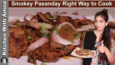 Smokey Pasanday Recipe   How to make Pasanday   Kitchen With Amna
