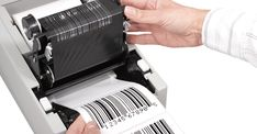 The Thermal printers are printing, thermal print name tags more quietly and are normally faster than the impact dot matrix printer. Information Kiosk, Thermal Printer, Printers, Wax, Laundry