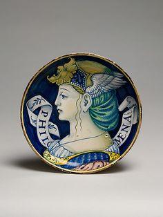 Plate  Style of Nicola da Urbino  (Italian, active by 1520–died ?1537/38 Urbino)