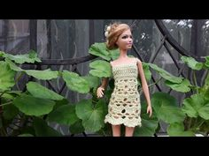 Эмма Сацкая - YouTube Barbie Clothes, Barbie Barbie, Crochet Fashion, Fashion Dolls, Dresses, Vestidos, Doll Accessories, Crochet Ornaments, Doll Clothes