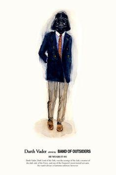 John Woo guerra estrelas moda estilismo intergaláctico alta costura