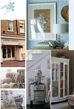 Laura Ashley Laura Ashley Uk, Ashley Blue, Laura Ashley Furniture, My Dream Home, Dream Homes, Interior Decorating, Interior Design, Cozy Cottage, Country Chic
