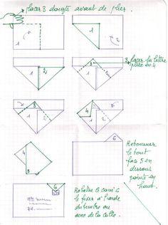 diagramme d 39 origami d 39 enveloppe n ud papillon chine origami et bricolages en. Black Bedroom Furniture Sets. Home Design Ideas