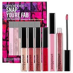 Smashbox Cosmetics Smashbox Cosmetics Holiday '11 Snap You're Fab Lip Enhancing Gloss Set by Smashbox,  BEAUTY FINDS IF YOU WISH TO BUY PLEASE CLICK ON AMAZON HERE  http://www.amazon.com/dp/B005SPTWJ2/ref=cm_sw_r_pi_dp_OuVCsb0Z84EZQ