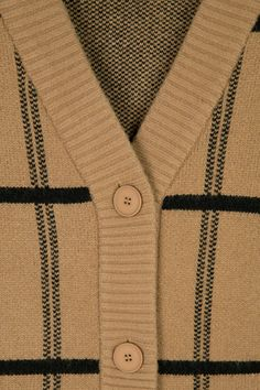 Oak And Fort, Check Printing, All The Way Down, Knitwear, Vintage Fashion, Clothing, Sweaters, How To Wear, Style