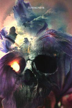 * Skullture IV.  by ~Ephynephryn *