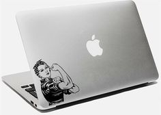 Rosie la rivettatrice Vinyl Sticker Decal femminista per Macbook Laptop donne lavoratori Sticker