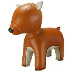 Bring some ZUNY Magic into your Home with this Adorable Deer Bookend. Made from High Quality PU Leather and perfect as a Unique Gift. Leather Wall, Unique Gifts For Men, Oh Deer, Tans, All Modern, Copenhagen, Decorative Accessories, Special Gifts, Doe Deere