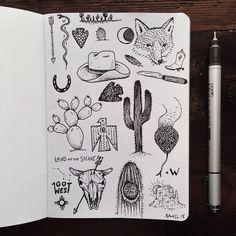 Sam Larson doodles