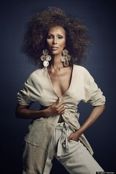 Iman Looks Absolutely Stunning For The March Issue Of Scene Magazine