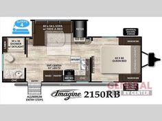 Imagine The Places You'll Go In The New 2017 Grand Design Imagine 2150RB Travel Trailer at General RV | Wixom, MI | #138402