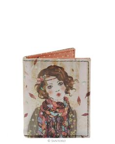 Travelcard Holder - Souvenir d'Hiver, Santoro's Willow #Santoro #Santorolondon #willow #Minasmoke