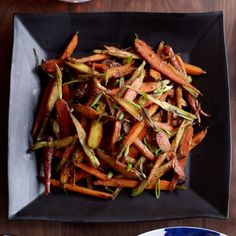 Red-Miso-Glazed Carrots