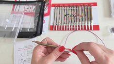 Knit Pro Symfonie sada jehlic Knitting, School, Youtube, Tricot, Breien, Stricken, Weaving, Knits, Crocheting