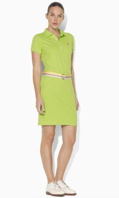 Dana Polo Dress - Ralph Lauren Golf Short Dresses - RalphLauren.com