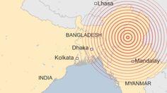 Myanmar shaken by 6.9 magnitude earthquake - BBC News