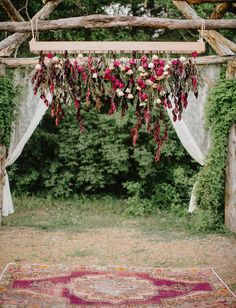 20 Boho Wedding Arches, Altars And Backdrops – Page 2 – Hi Miss Puff Chic Wedding, Wedding Trends, Wedding Designs, Wedding Styles, Wedding Ceremony, Wedding Arches, Outdoor Ceremony, Wedding Card, Ceremony Backdrop