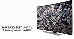 Samsung nyhed! Buede UHD LED-TV