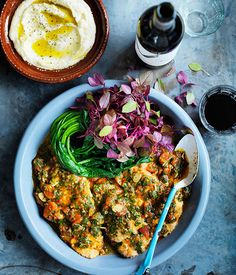 Over recipes from Australia's leading gourmet food magazine, Australian Gourmet Traveller. Lamb Recipes, Greek Recipes, Wine Recipes, Indian Food Recipes, Gourmet Recipes, Healthy Recipes, Ethnic Recipes, Sofrito Recipe, Greek Cooking