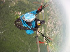 Dominik Tschoder in Bassano del Grappa Parapente (paragliding)