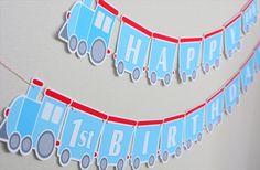 BirthdayBanner train banner
