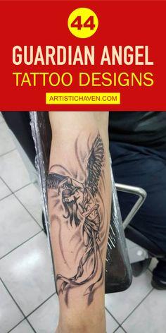 Guardian Angel Tattoo, Latest Tattoo Design, Angel Tattoo Designs, Friend Tattoos, Personality, Symbols, Ink, Popular, Friends
