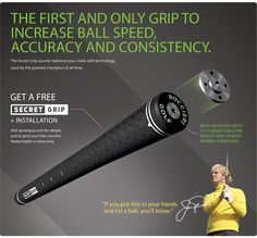 Boccieri Golf Secret Grip at Golf Galaxy