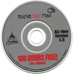 I think I only paid for AOL twice in more than a year thanks to these. Does anyone even have AOL anymore? 90s Childhood, Childhood Memories, America Online, Nostalgia, Boys Online, Those Were The Days, Ol Days, Teenage Years, 90s Kids