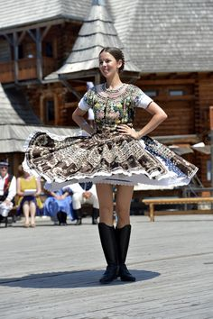 International folklore festival held regularly in Vychodna, Liptov Region, Central Slovakia Bratislava, Folk Costume, Costumes, Shall We Dance, Folk Dance, Dance The Night Away, Pictures To Paint, World Cultures, Traditional Outfits