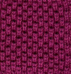 Tuck Stitch from Fabric University. An interesting looking and simple stitch. If you can knit and purl in the same row, you CAN do this!