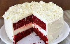 Mother's Day Special Red Velvet Cheesecake: English - Urdu Recipe
