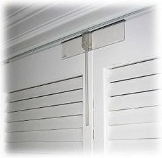Childproof Bi-Fold Door Lock Transparent- we have this to prevent m ...