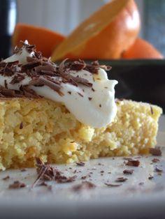 Orange Almond Cake (or blood orange, clementine or meyer lemon) amazing!