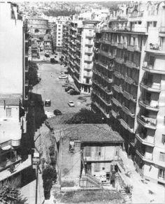 Οδός Δ.Γούναρη, αρχές του 1960.Πλατεία Ναυαρίνου