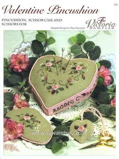 131 - Valentine Pincushion Chart