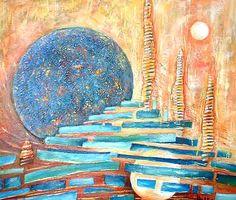 Artwork >> Sylvie Boulet >> the moons