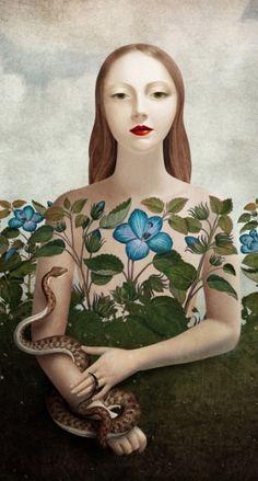Eva and the Garden, Christian Schloe