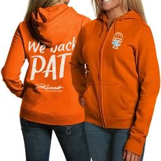 Tennessee Lady Vols Women's Fight Like A Lady Full Zip Hoodie - Tennessee Orange