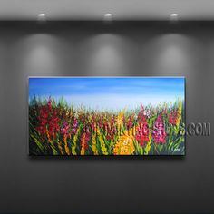 Beautiful Contemporary wall art oil paintings of Flower. It is with great pleasure to offer you this stunning 1 panel(s) wall art! This painting is created and hand painted by us, it is well stretched with inner frame, ready Contemporary Wall Decor, Modern Wall Art, Large Wall Art, Dining Room Wall Art, Living Room Art, Panel Wall Art, Canvas Wall Art, Modern Art Paintings, Bedroom Art