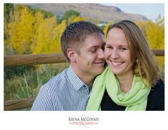 Golden, Colorado Engagement Photography | Clear Creek Trail | Rayna McGinnis Photography | Autumn Engagement Photography | www.raynamcginnisphotography.com