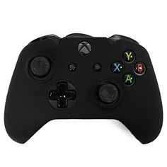 Hde Xbox One Controller Skin Silicone Rubber Protective Grip Case Cover For Microsoft Xbox 1 Wireless Gamepad (Black), 2015 Amazon Top Rated Xbox One #PersonalComputer